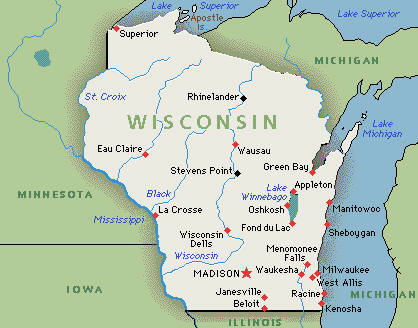 Wisco Map